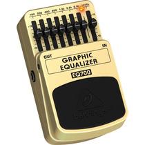 Pedal Behringer Equalizador Gráfico Eq700 Frete Grátis!