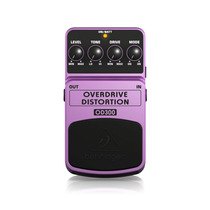 Pedal Para Guitarra Behringer Overdrive Distortion Od300 Rox