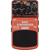 Pedal Behringer Bsy600 P/contrabaixo Bass Synthesizer