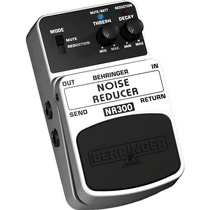 Pedal De Efeito Noise Reducer Behringer Nr 300 -frete Grátis