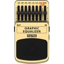 Pedal Guitarra Behringer Equalizador Gráfico Eq700 Novo