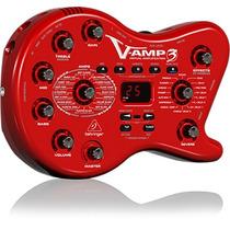 Pedaleira Behringer V-amp 3 Multiefeitos P/guitarra Novo