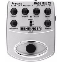 Bdi21 Pedal Behringer V-tone Bdi 21 Original Para Baixo