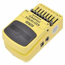 Pedal De Guitarra Behringer Equalizador Eq700 Pronta Entrega