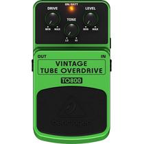 Pedal Behringer To800 Vintage Tube Overdrive ( Ibanez 808 )