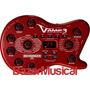 Pedaleira P/ Guitarra Com Simulador De Amplificadores V-amp3