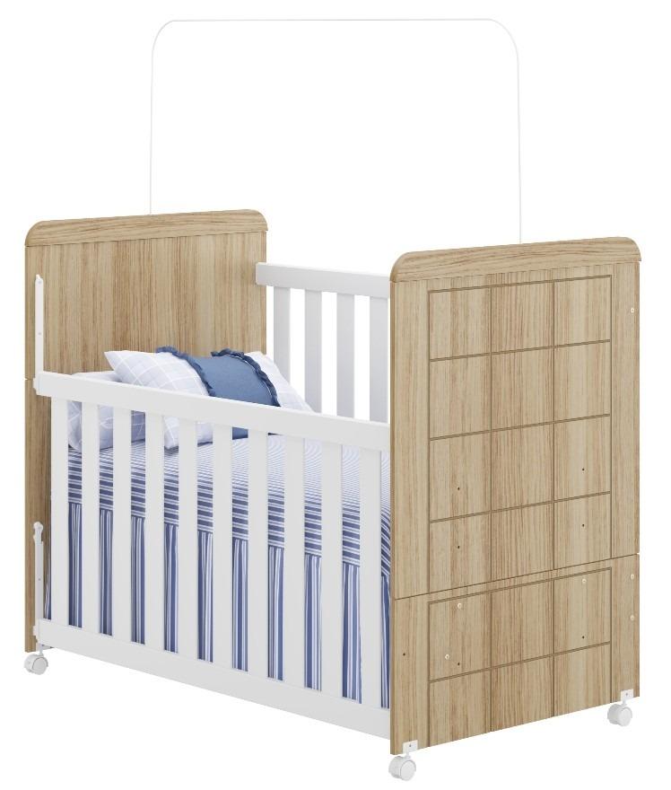 Berço Mini Cama Sofá Quarto Infantil Bebê 100% Mdf 0512r