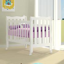 Berço Mini Cama Lila 100% Mdf Bebê Infantil Envio Imediato