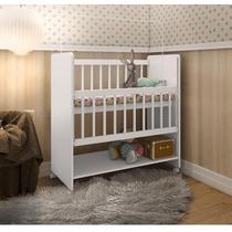 Berço Moisés Soninho Com Colchão Branco Bebê Quarto Infantil