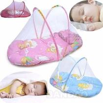 Mosquiteiro Portátil E Dobrável Berço Bebê Infantil