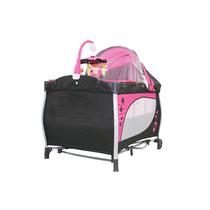Berço Desmontável Baby Style Balanço Rosa