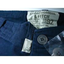 Bermuda Masculina Cargo Abercrombie Jeans Camuflada Holliste