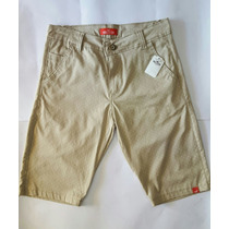 Bermudas Jeans Masculina Short Jeans Casual Branca Garanta J