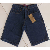 Bermuda Jeans Masculina Tradicional 5 Bolsos