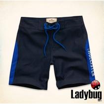 Bermuda Masculina Hollister (bluffs Beach Swim Shorts) M E G