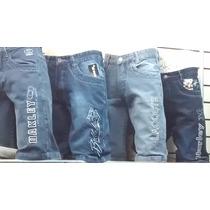 Kit C 4 Bermudas Jeans Várias Marcas R$ 199,00