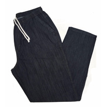 Calça Masculina Jeans Elástico Plus Size P M G G1 G2 G3 G4