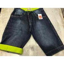 Kit C/20 Bermudas Jeans Atacado Para Revenda