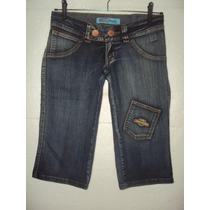 Bermuda Jeans Feminina Coconut Republic Tamanho 36