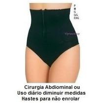 Bermuda Modelador Cinta Bumbum Fio Calcinha Body Cirurgia