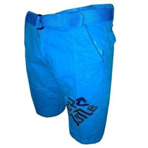 Bermuda Jeans Cyclone Azul Céu Cy40 Frete Grátis
