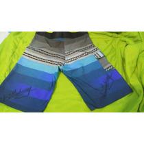 Bermuda De Surf - Material De Elastano