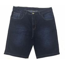 Bermuda Jeans Masculina Kamanaco Tamanho Especial 50 Até 78