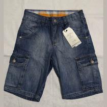 Bermuda Jeans Infantil - Vide Bula - Tam. 10