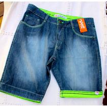 Bermuda Jeans Masculina Quiksilver Shorts Calca Hollister