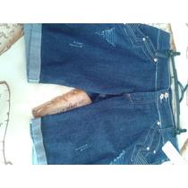 Shorts E Bermudas Jeans No Lote 20 Peças Brechó