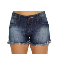 Bermuda Shorts Jeans Basico Liso Denuncia