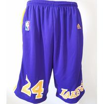 Bermuda Short Calção Nba Basquete - Chicago Lakers Miami
