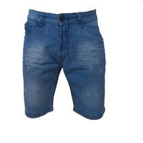 Bermuda Shorts Jeans Masculina