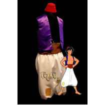 Fantasia Aladdin Festa Carnaval Cosplay Masculino Adulto Lux