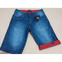 Bermuda Jeans Masculina Hollister,lacoste,abercrom Promoção