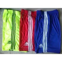 Kit 3 Bermudas Calção Shorts Adidas Pronta Entrega Bolso