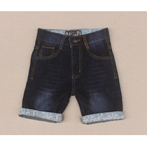 Bermuda Jeans Infantil Tigor T Tigre