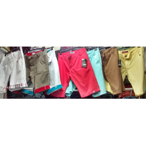 Kit C/ 10 Bermudas Jeans Lacoste Hollister Billabong Oakley
