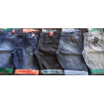 Kit 5 Bermudas Jeans Atacado - Frete Grátis Via Sedex