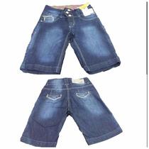 Bermuda Feminina Sawary Jeans Pronta Entrega Ref 236054