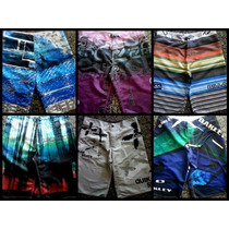 Kit 5 Shorts Tactel Maculino Surf Plus Size Extra Grande .