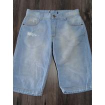 Bermuda Masculina Jeans Tam 16! Nova