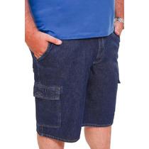 Bermuda Jeans Masculina Plus Size Até Numero 68