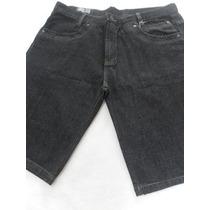 Bermuda Jeans Masculina Tradicional Azul Tamanho Do 40 Ao 54