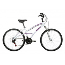 Bicicleta Caloi 100 Sport Feminina Aro 26 21 Marcha