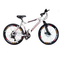 Bicicleta Aluminio Freio Disco Cambios Shimano Quadro Alumín