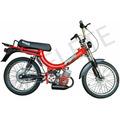 Bicicleta Motorizada - Mobilete Bikelete 2 Tempos - Moby