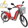 Bicicleta Elétrica Motorizada 350 W 48v Liberada P/ciclovias