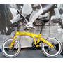 Bicicleta Dobrável Aro 20 Freio Disco 7 Velo Shimano S/juros