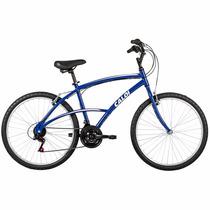 Bicicleta Aro 26 Caloi Confort 100 21 Marchas Aluminio